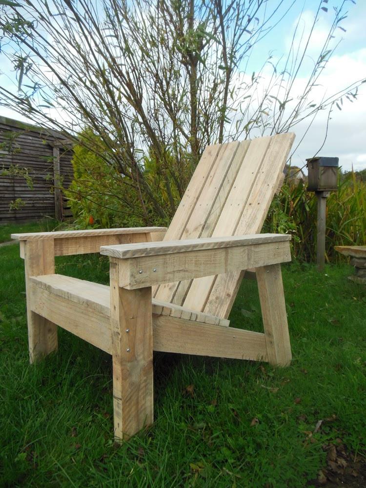 DIY Adirondack Chairs Plans  The Tenacious Gardener DIY Adirondack chair
