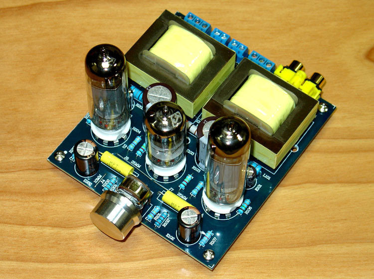 DIY Audio Amplifier Kits  Hi Fi Stereo 6N2 6P1 Single ended Class A Tube Amplifier