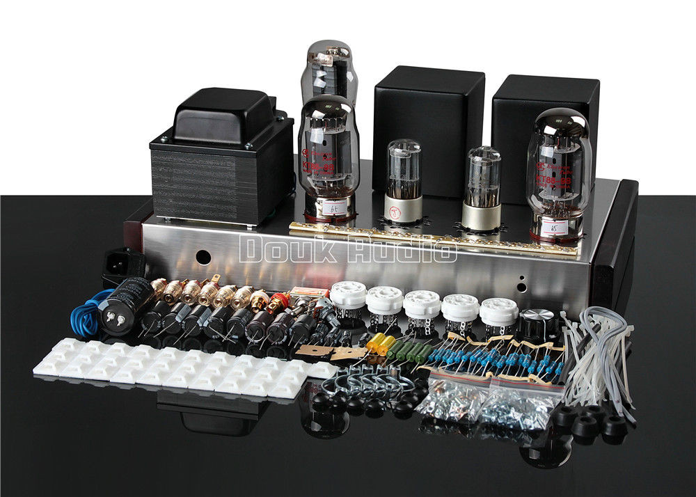 DIY Audio Amplifier Kits  KT88 Valve Tube Amplifier Single ended Class A Stereo HiFi
