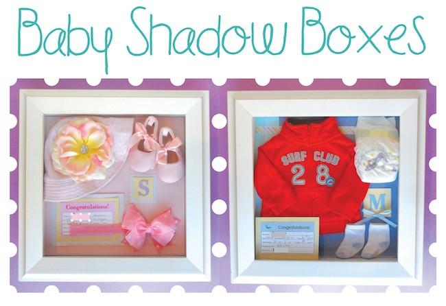 DIY Baby Box  Baby Shadow Boxes Smart School House