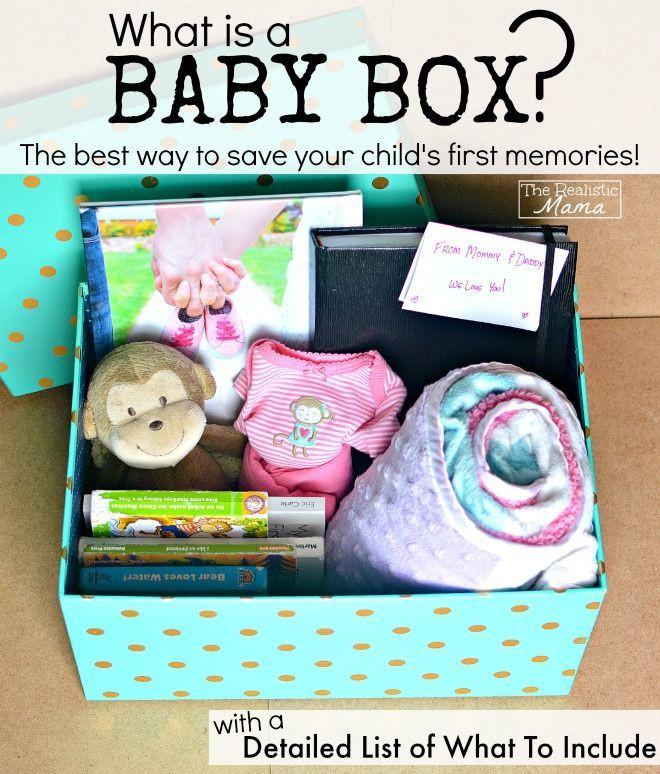 DIY Baby Box  DIY Baby Memory Box