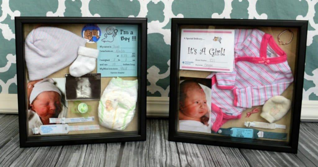 DIY Baby Box  DIY Birth Baby Shadow Box