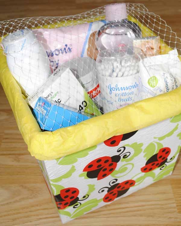 DIY Baby Box  hamper diy baby essentials t box idea for mum to be