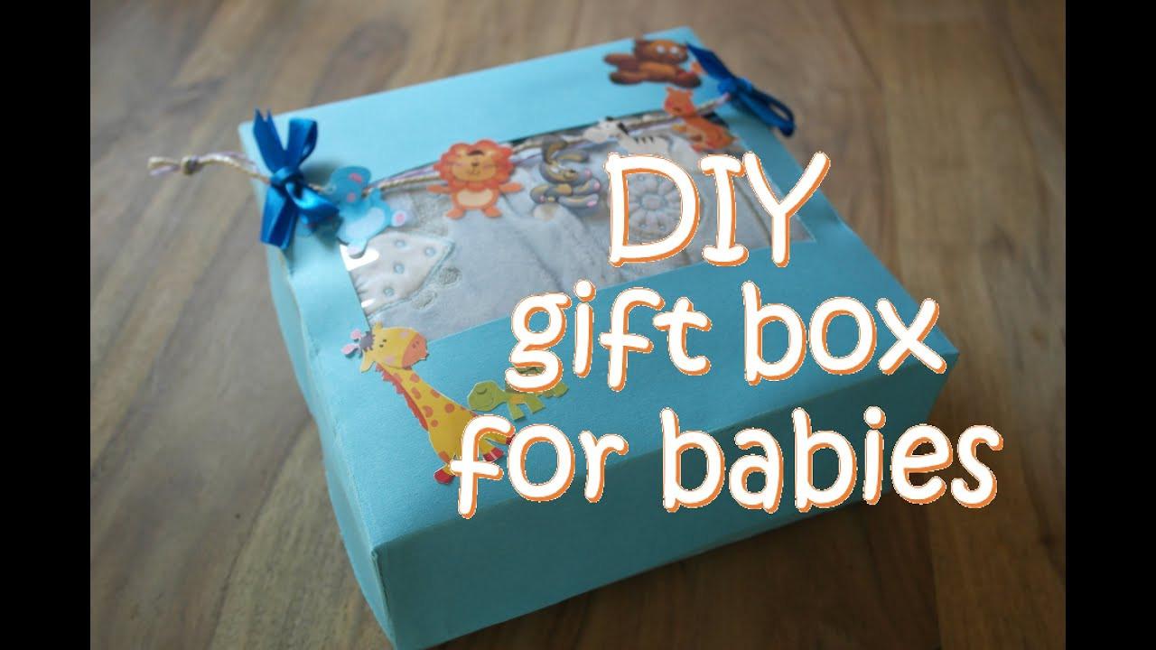 DIY Baby Box  DIY t box for babies DIY baby shower t box