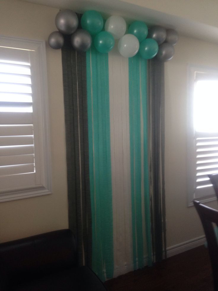 DIY Baby Shower Backdrop  Best 25 Baby shower backdrop ideas only on Pinterest