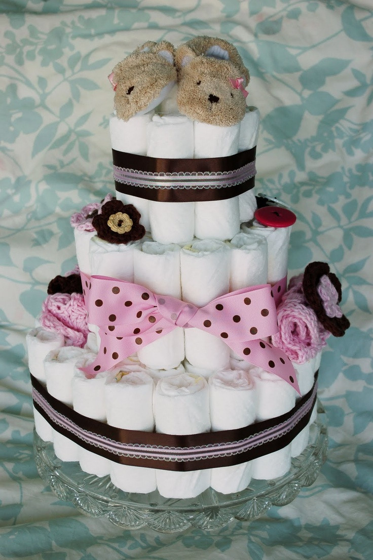 DIY Baby Shower Cakes  Best Baby Gifts for Girls