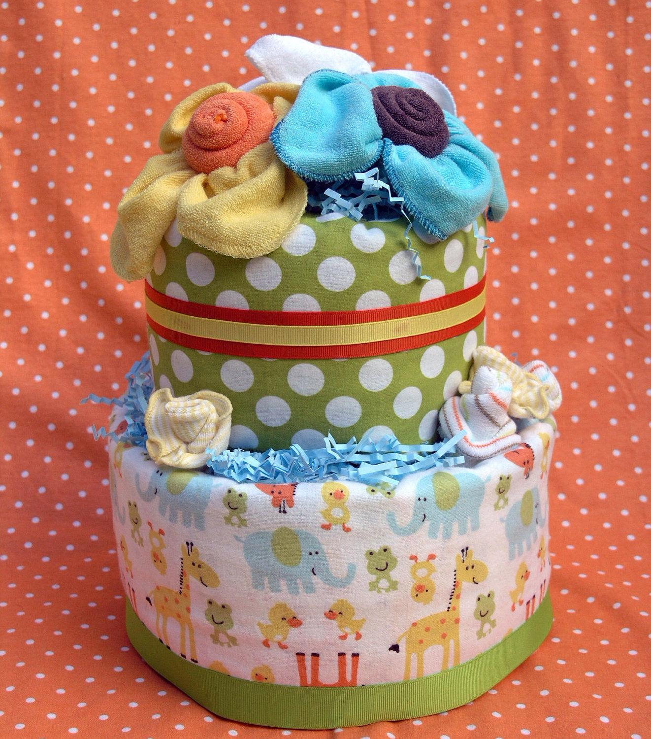 DIY Baby Shower Cakes  DIY Diaper Cakes For Baby Showers