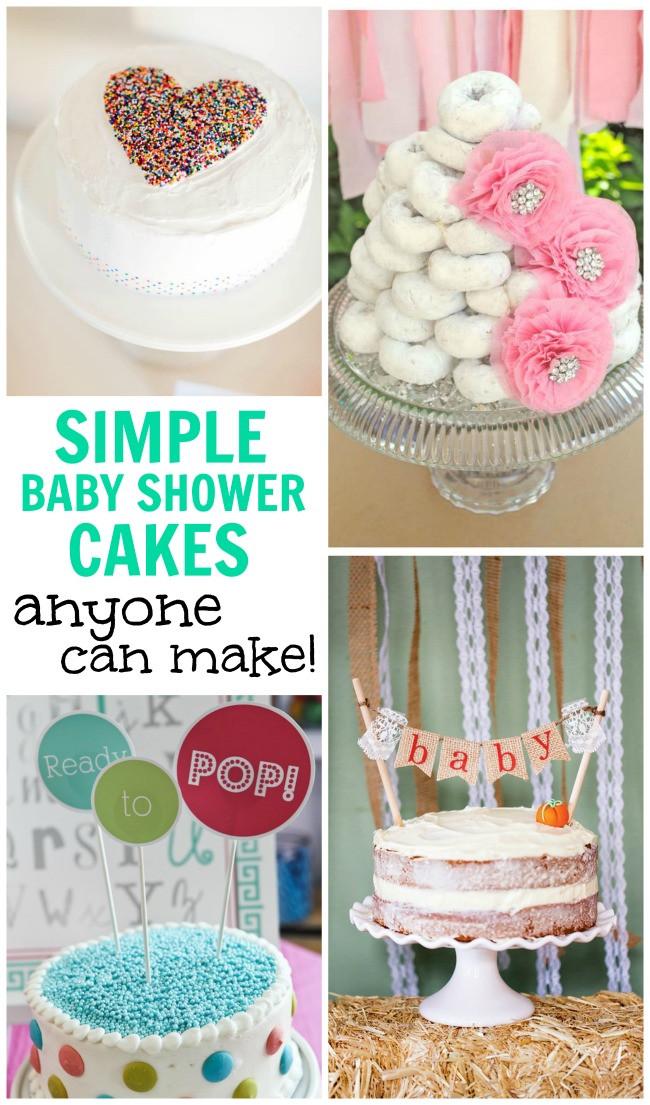 DIY Baby Shower Cakes  DIY Baby Shower Cake Ideas