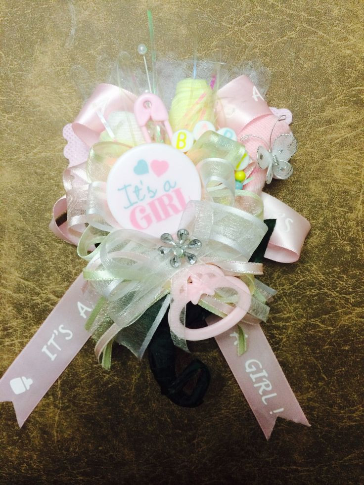 DIY Baby Shower Corsages  Best 25 Baby shower corsages ideas on Pinterest
