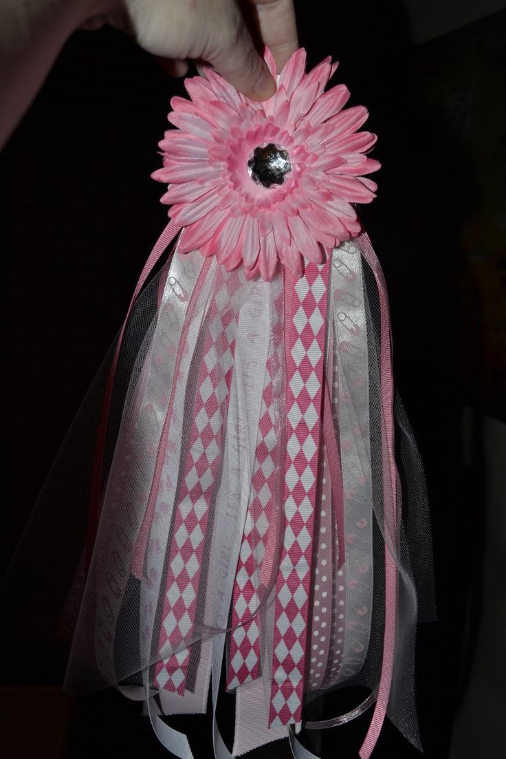 DIY Baby Shower Corsages  195 best Baby Shower Corsages images on Pinterest