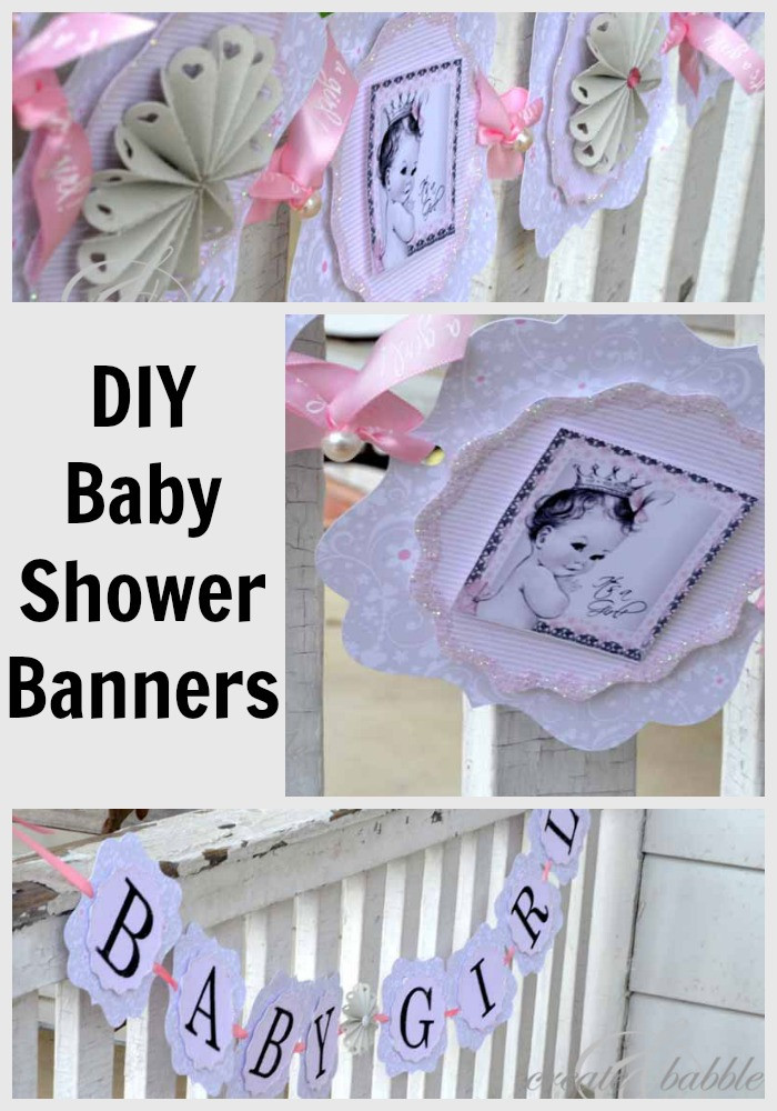 DIY Baby Shower Decorations For Girl  Baby Girl Shower Decorations DIY Style Create and Babble
