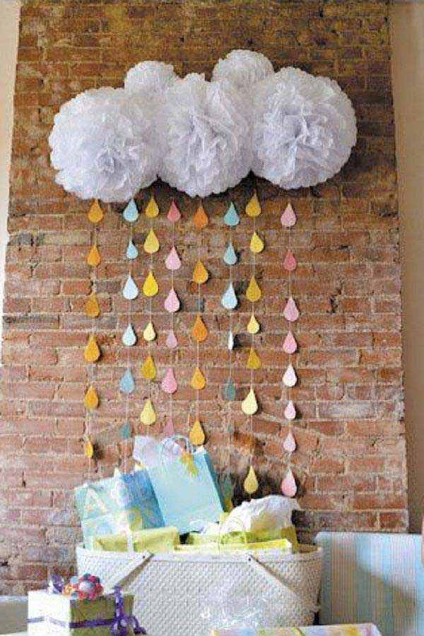 DIY Baby Shower Decorations For Girl  22 Cute & Low Cost DIY Decorating Ideas for Baby Shower Party