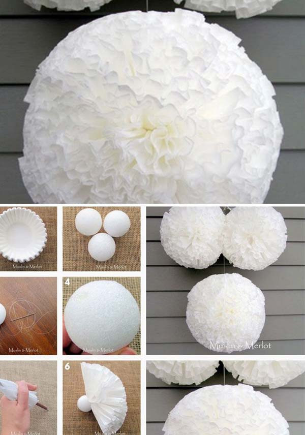 DIY Baby Shower Decorations For Girls  22 Insanely Creative Low Cost DIY Decorating Ideas For