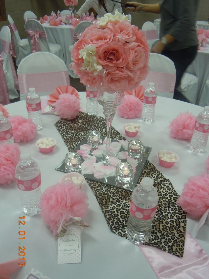 DIY Baby Shower Decorations For Girls  Pin by nancy abdulmassih on Baptism Ideas in 2019