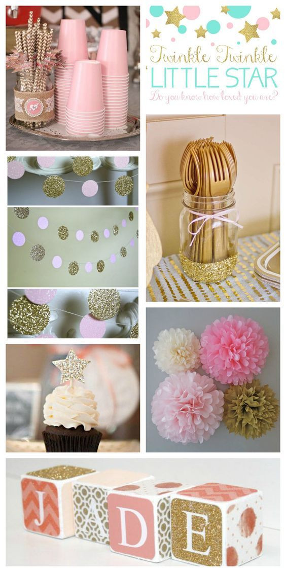 DIY Baby Shower Decorations For Girls  17 DIY Baby Shower Ideas for a Girl