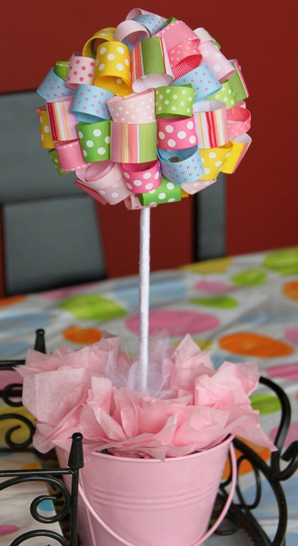 DIY Baby Shower Decorations For Girls  Baby shower ideas – theme and decoration tips