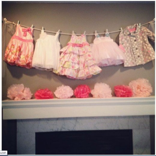 DIY Baby Shower Decorations For Girls  DIY Baby Shower Ideas for Girls