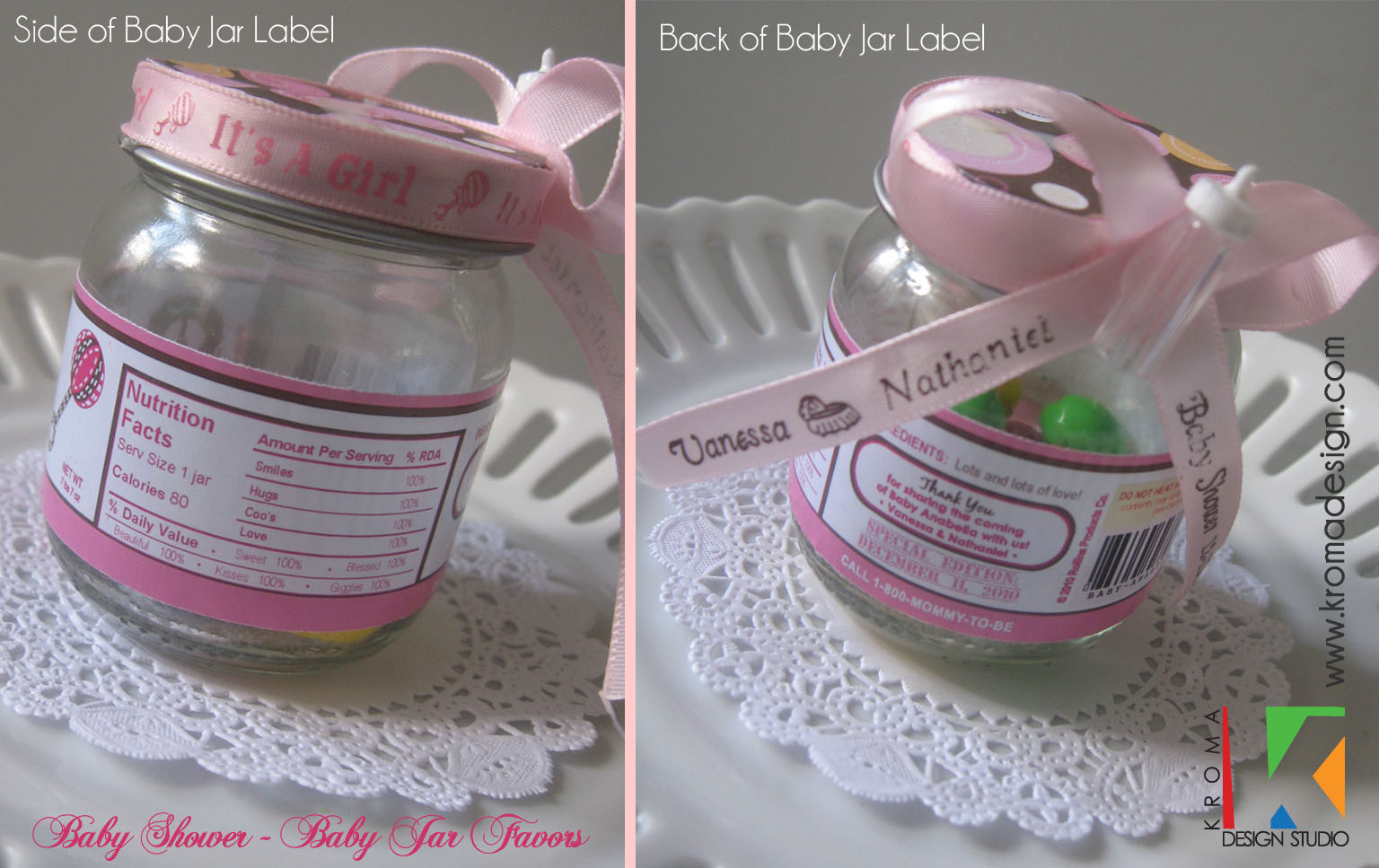 DIY Baby Shower Favors Ideas  Baby Showers DIY Printable Baby Jar Label Favors for