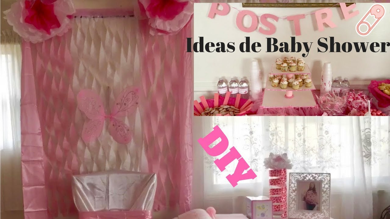 DIY Baby Shower Ideas For Girl  Baby shower ideas DIY decorations for a baby girl ideas