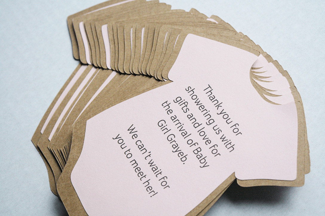DIY Baby Shower Invitations Free  DIY Baby Shower Invitations or Thank You Cards