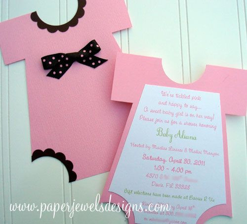 DIY Baby Shower Invites  Adorable DIY Baby Shower Invites Your Friends will Love to