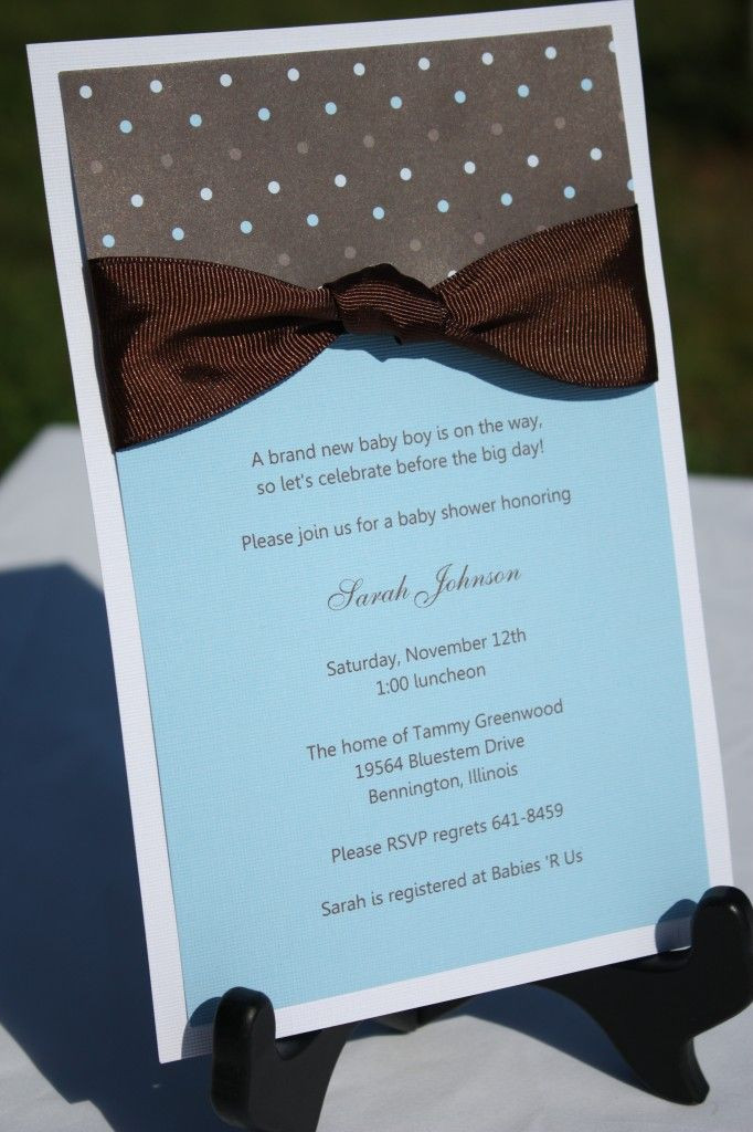 DIY Baby Shower Invites  160 best images about Homemade baby shower invitation on