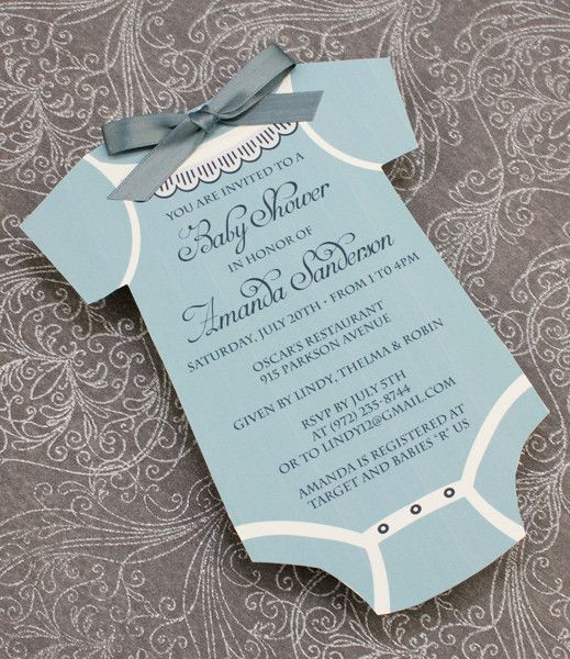DIY Baby Shower Invites  DIY Baby Boys sie Shower invitation template from