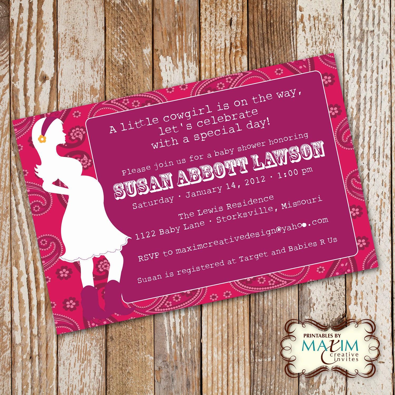 DIY Baby Shower Invites  DIY Printable Invitation Baby Shower Invitation Party