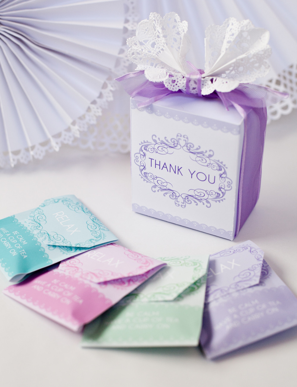 DIY Baby Shower Party Favors  DIY Baby Shower Tea Party Favor Free Printable