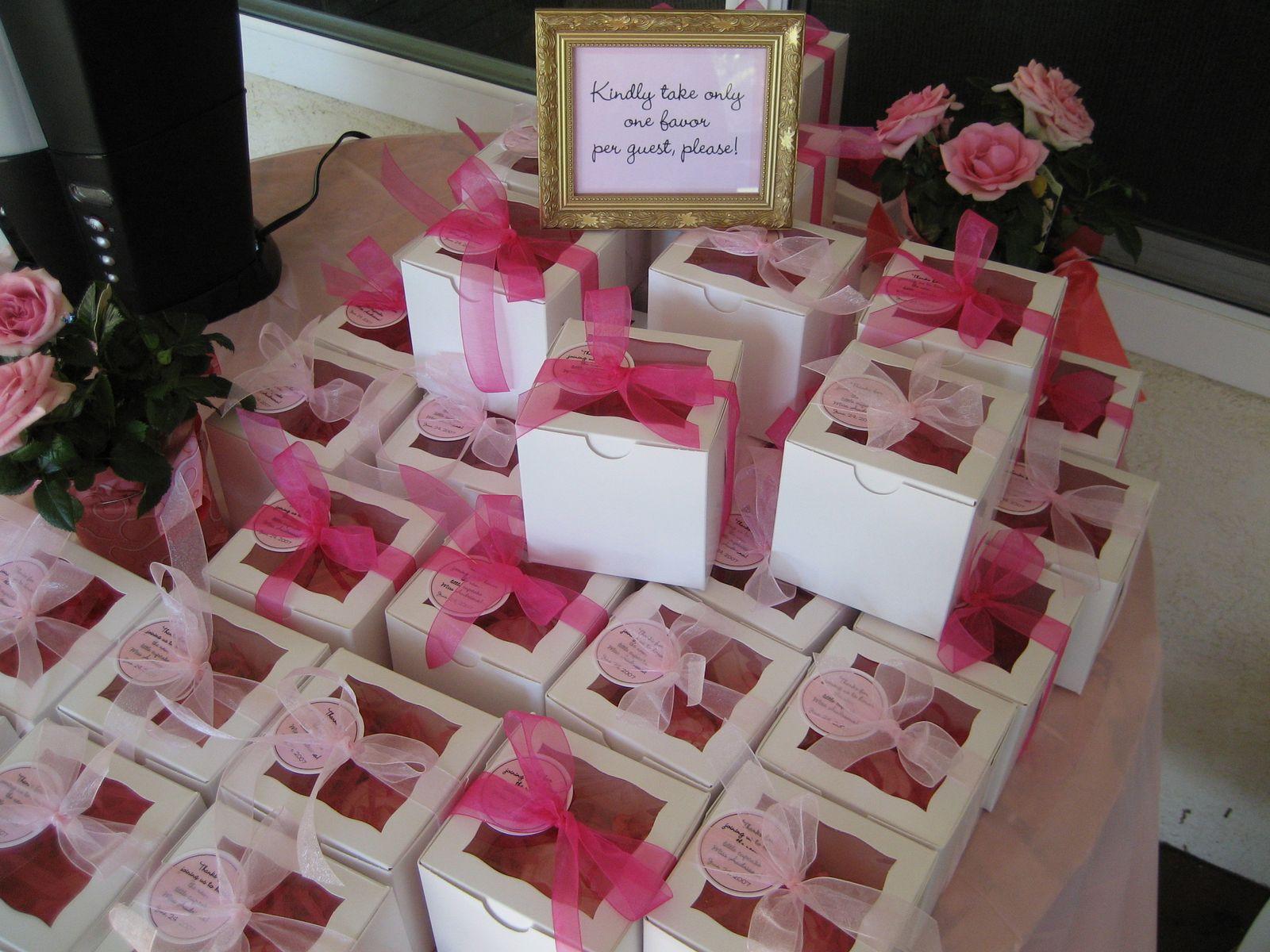DIY Baby Shower Party Favors  Sweet Vanilla Bean Sweets & Treats Gallery
