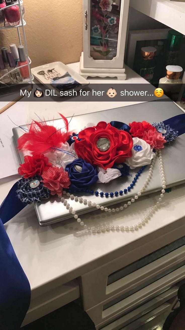 DIY Baby Shower Sash  Best 25 Baby shower sash ideas on Pinterest