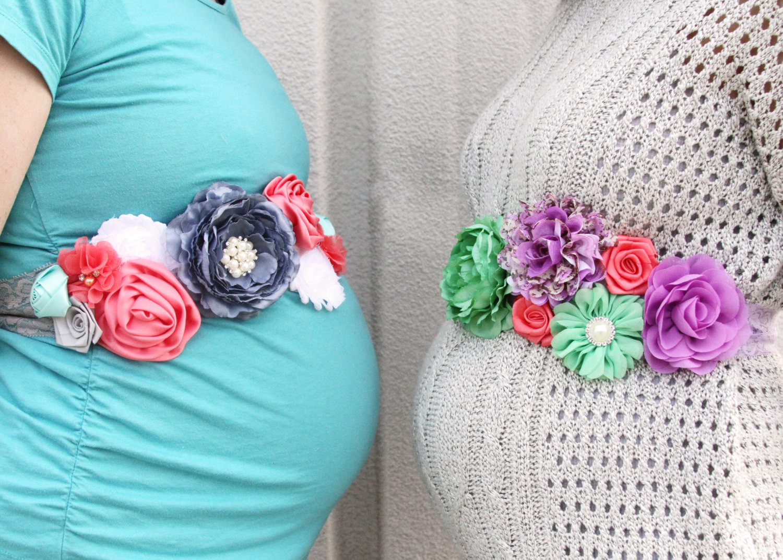 DIY Baby Shower Sash  DIY Maternity Sash Baby Shower Baby Bump by
