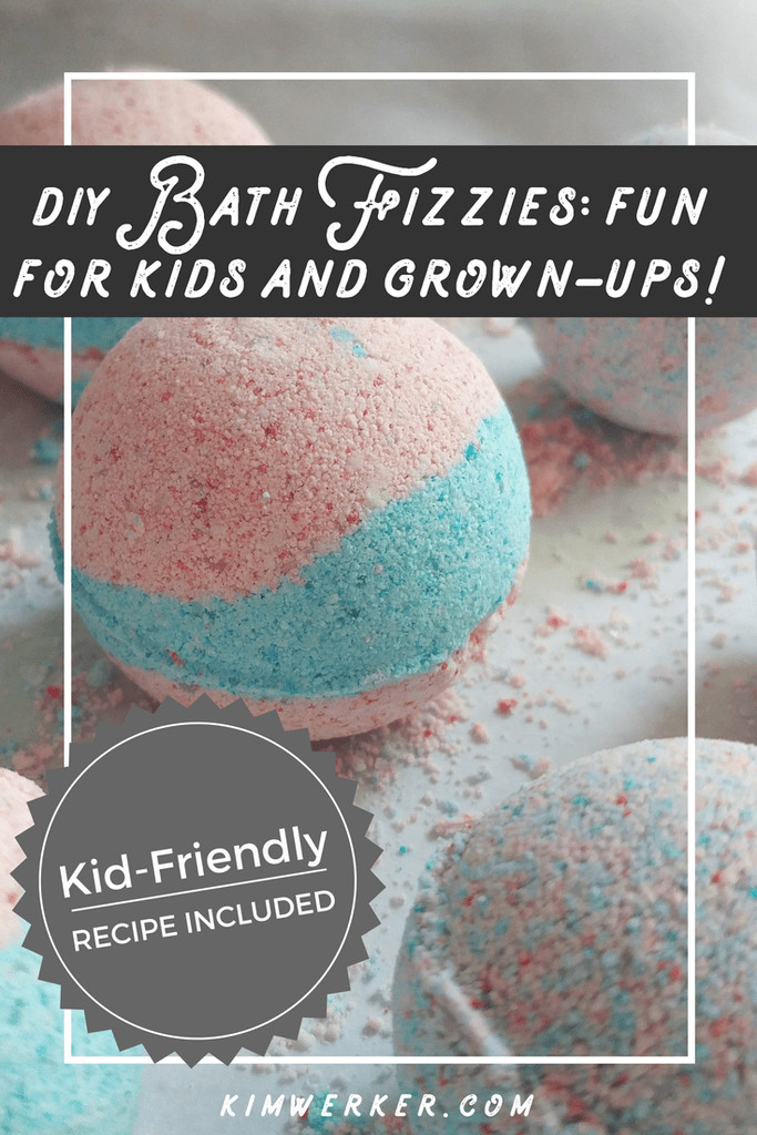 DIY Bath Bombs For Kids  DIY Bath Fizzies AKA Bath Bombs A Kid friendly Recipe
