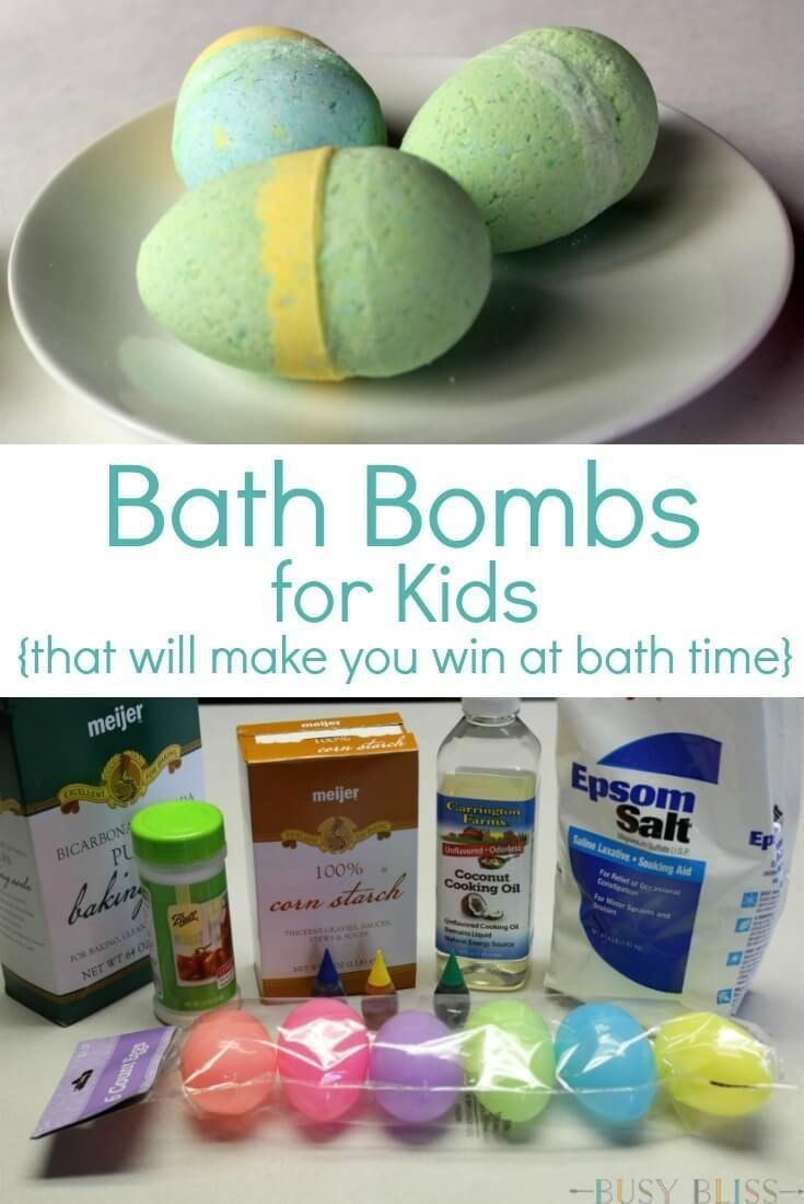 DIY Bath Bombs For Kids  25 best ideas about Kid crafts on Pinterest
