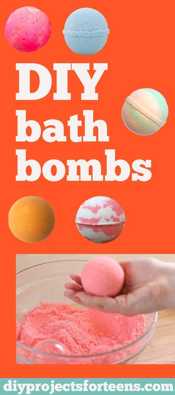 DIY Bath Bombs For Kids  How To Make DIY Lush Bath Bombs