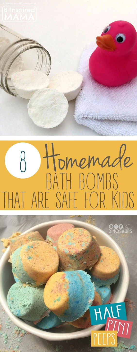 DIY Bath Bombs For Kids  8 Homemade Bath Bombs that are Safe for Kids