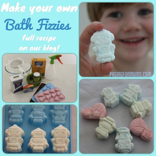 DIY Bath Bombs For Kids  DIY Bath Fizzies Great Fun for Bath Time
