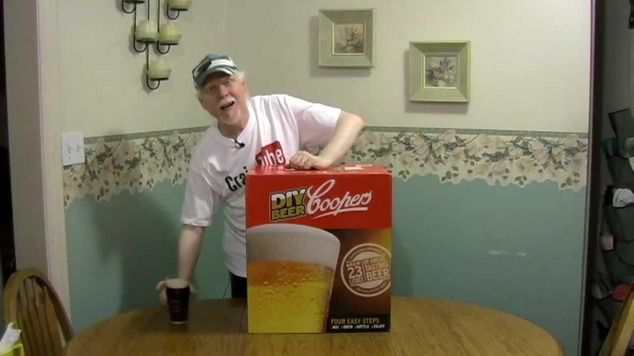 DIY Beer Kit  Coopers DIY Beer Kit Revised and Reposted