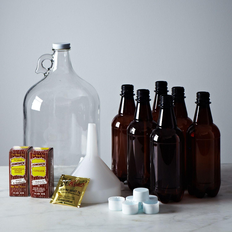 DIY Beer Kit  DIY Ginger Beer & Sarsaparilla Kit on Food52