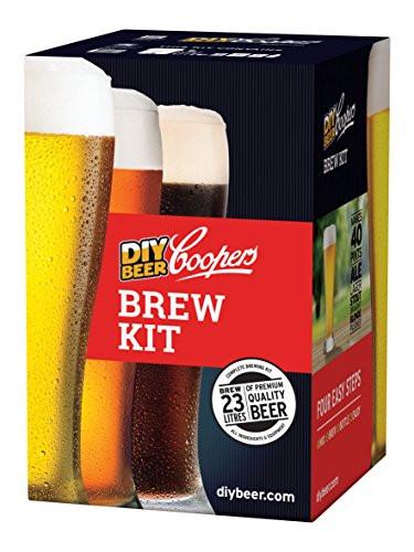 DIY Beer Kit  Coopers DIY Beer Home Brewing 6 Gallon Craft Beer Making