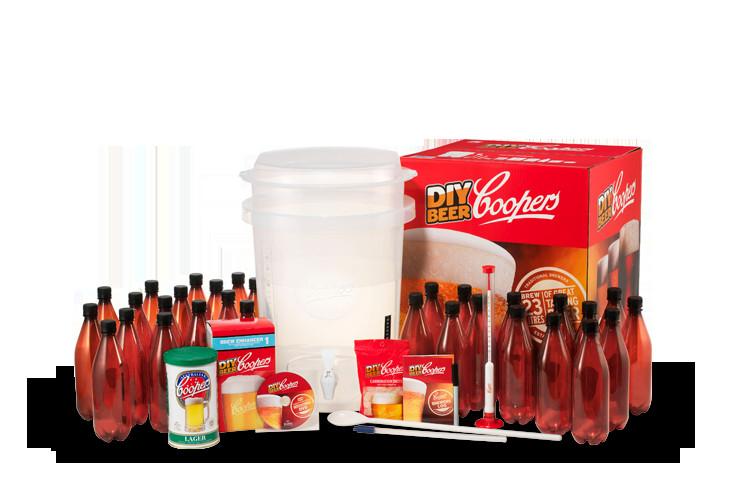 DIY Beer Kit  Coopers DIY Beer Kit NEW with VWP Sterilizer Brewbelt And