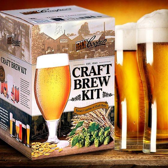 DIY Beer Kit  Coopers DIY Craft Beer Brew Kit Makes 8 5 liters