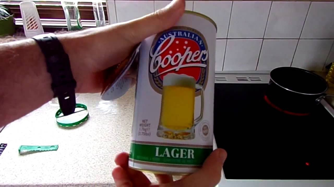 DIY Beer Kit  Making the Coopers DIY Beer Kit from start to finish 2016
