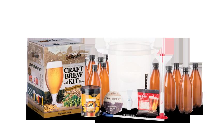 DIY Beer Kit  Coopers DIY Beer Craft Brew Kit