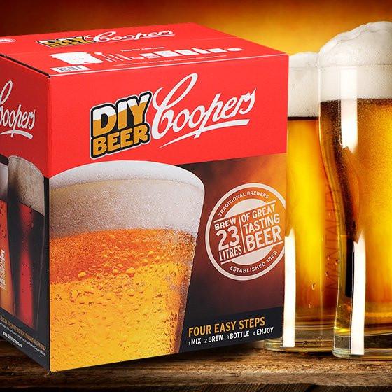 DIY Beer Kit  Coopers DIY Microbrewery Craft Beer Kit Makes 23 liters