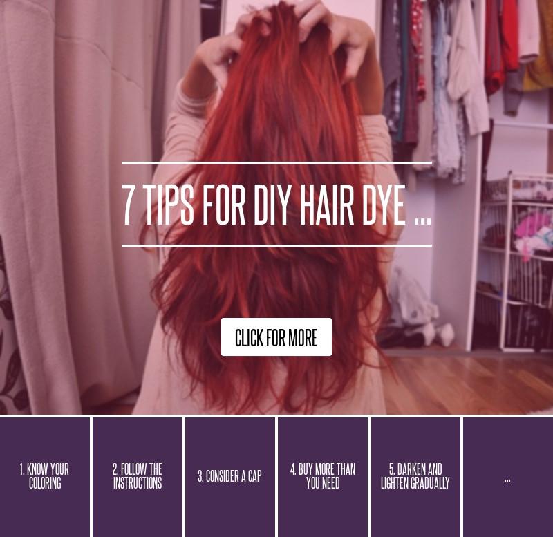 DIY Black Hair Dye  7 Tips for DIY Hair Dye Hair