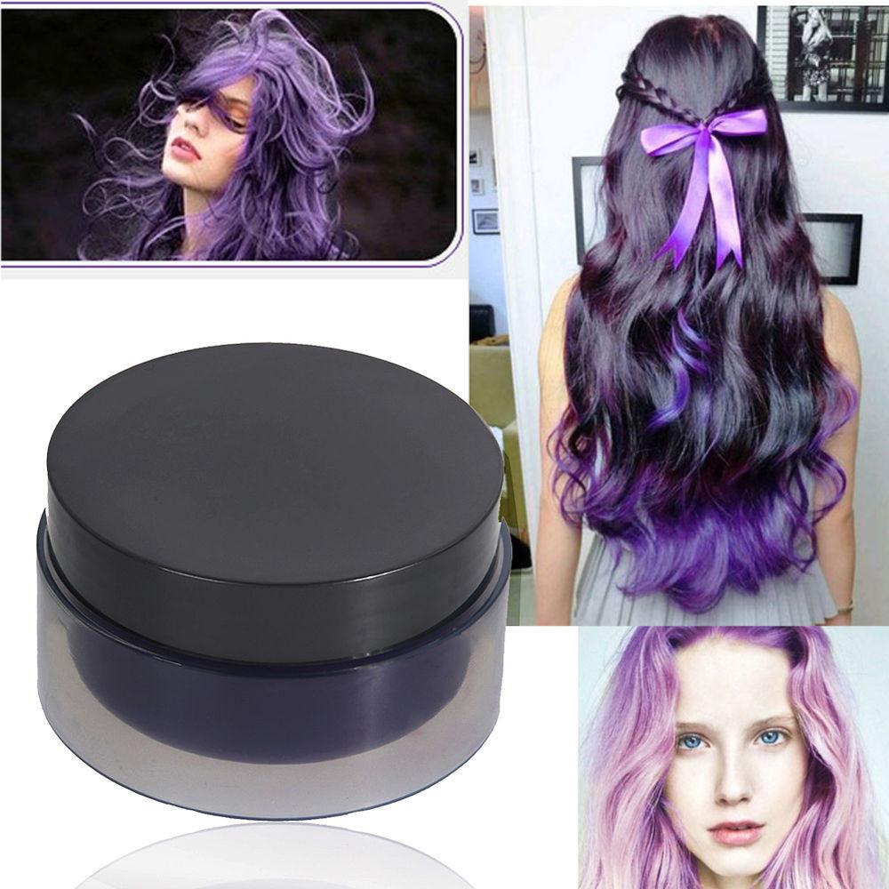 DIY Black Hair Dye  DIY Hair Coloring Disposable Hair Colored Cream Wax Hair