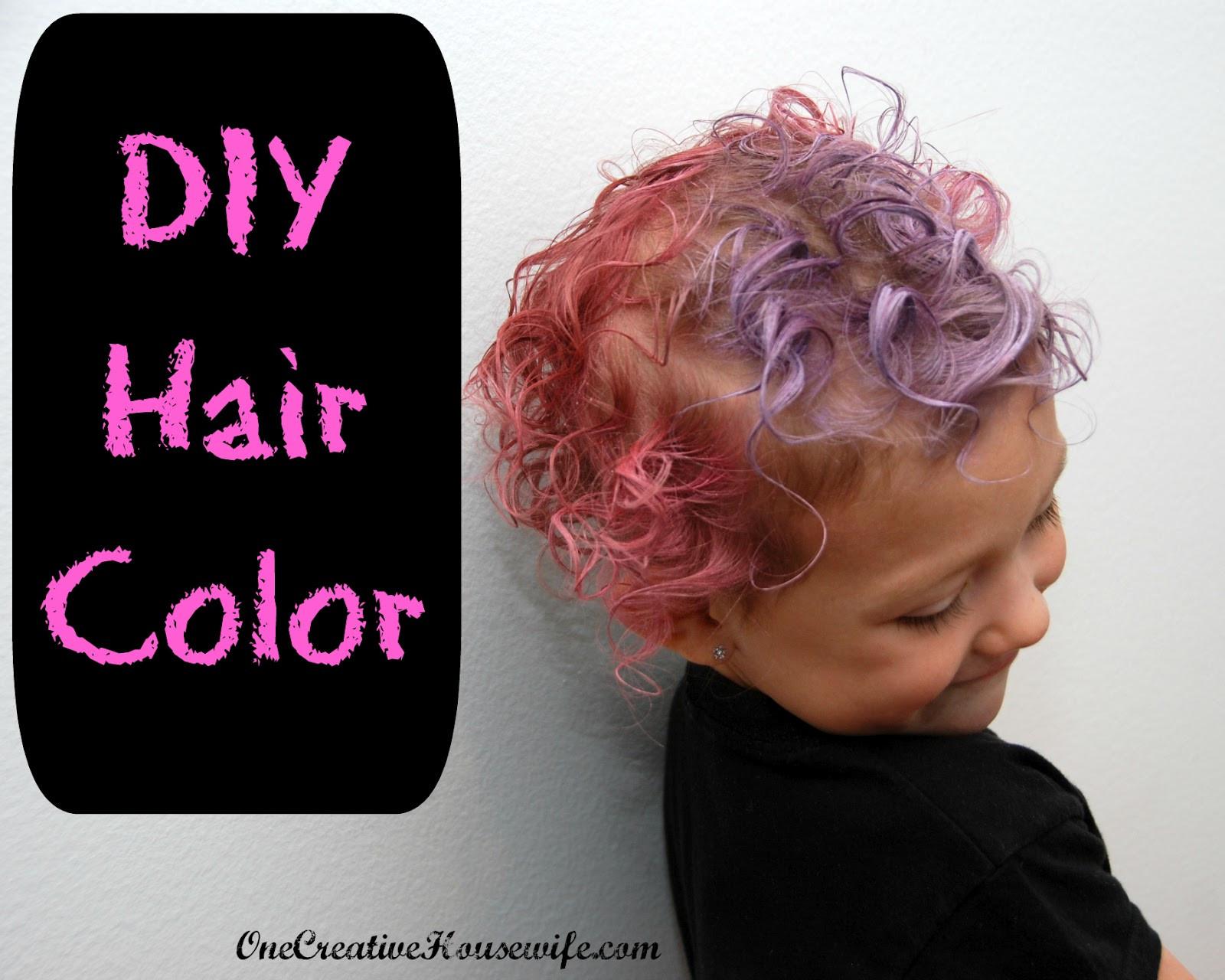 DIY Black Hair Dye  e Creative Housewife DIY Hair Color
