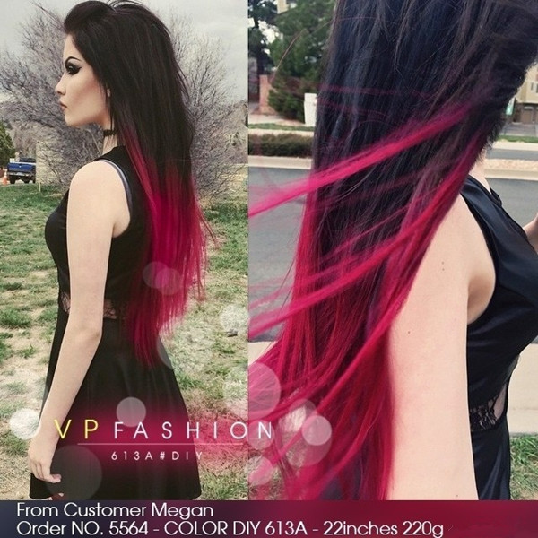 DIY Black Hair Dye  How to Dye your Ideal Blue Ombre Hair Color for 2015