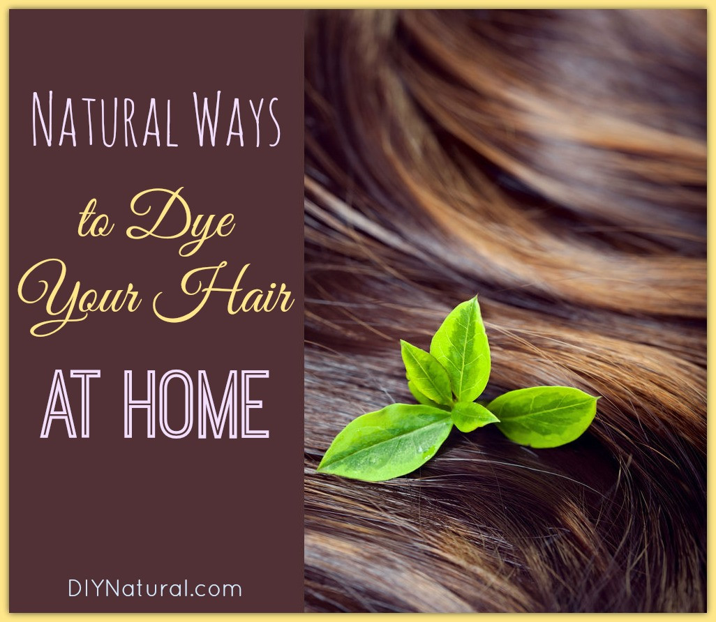 DIY Black Hair Dye  Homemade Hair Dye Natural Ways to Get Different Colors at